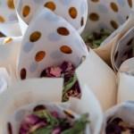 Wedding Confetti in paper cups