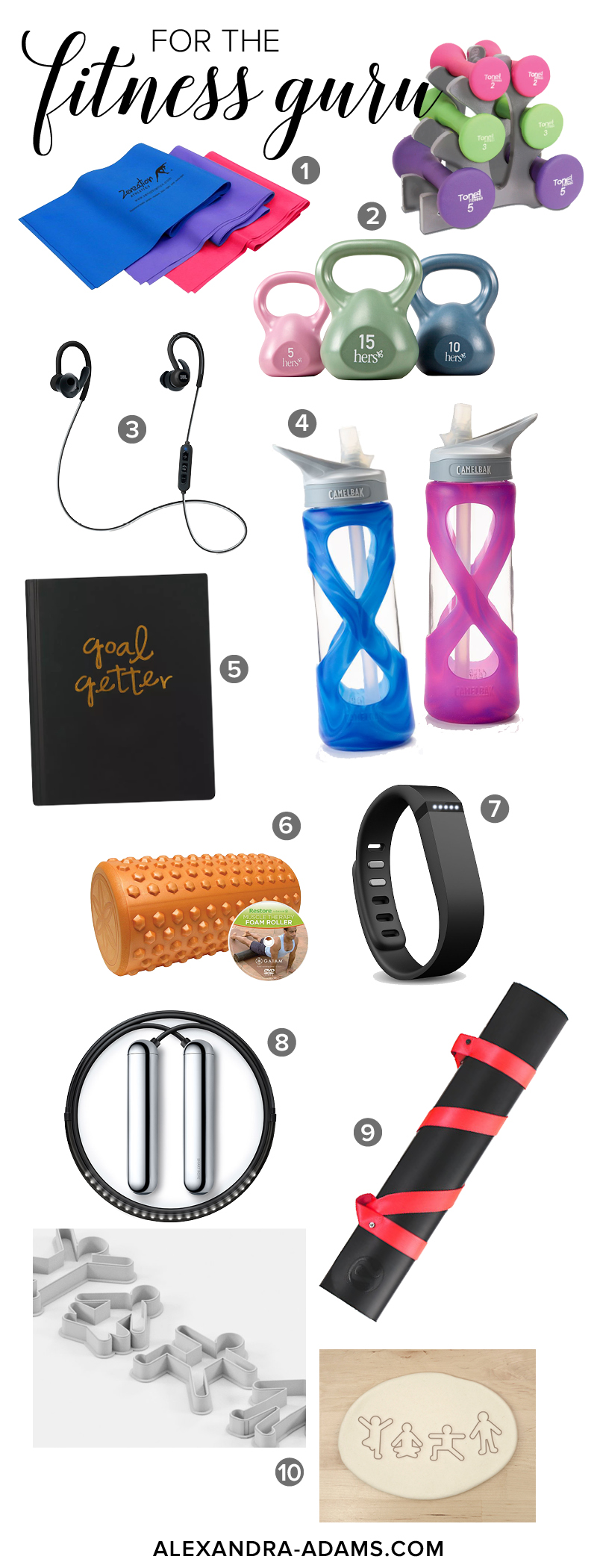 For the Fitness Guru | Gift Guide | Christmas | Holiday