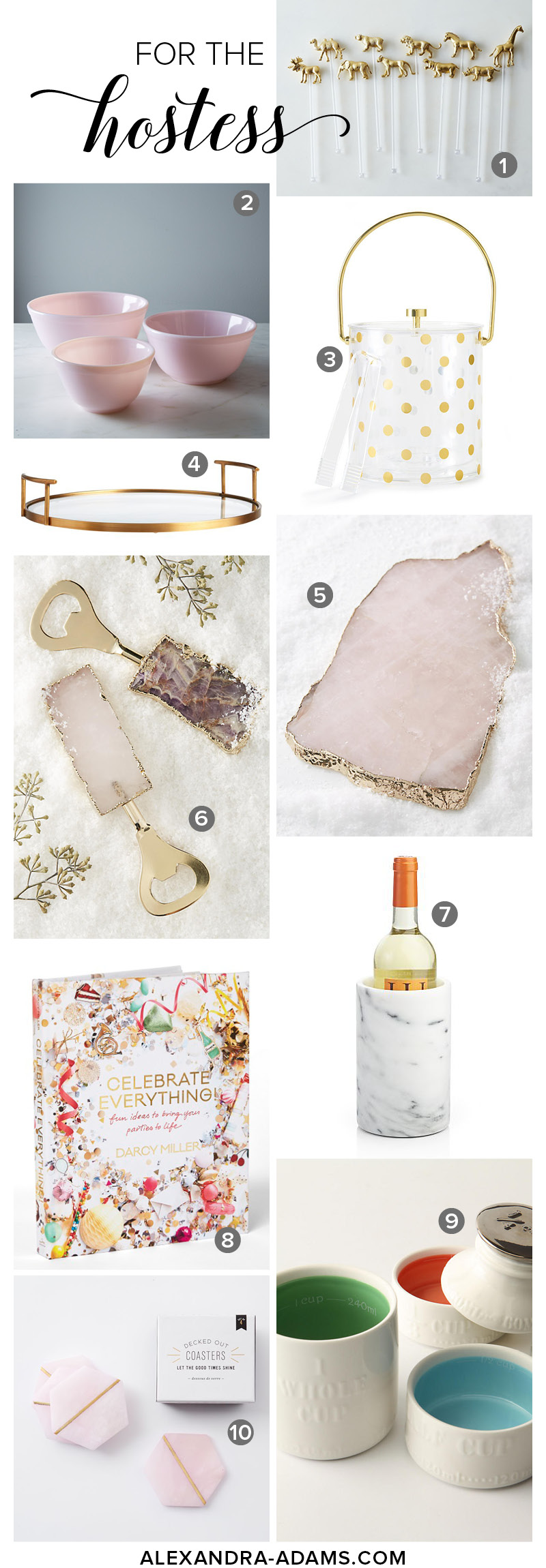 For the Hostess | Gift Guide | Christmas | Holiday