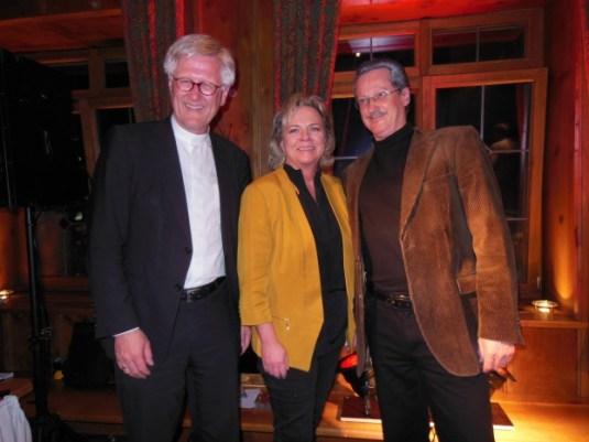 Mit Landesbischof Heinrich Bedford-Strohm und Uli Bauer als Christian Ude (2013)