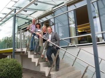 Das SPD-Kandidatenteam 2013 (von oben nach unten): Konrad Gubo, Martina Stamm-Fibich, Alexandra Hiersemann Christian Pech