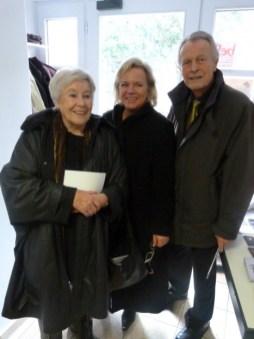 Mit Ursula Rechtenbacher, Bürgermeisterin a.D., und Altoberbürgermeister Dr. Dietmar Hahlweg, Erlangen