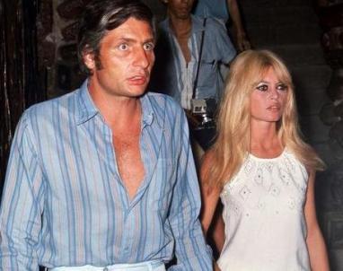 Brigitte and Gunter Sachs in Saint Tropez