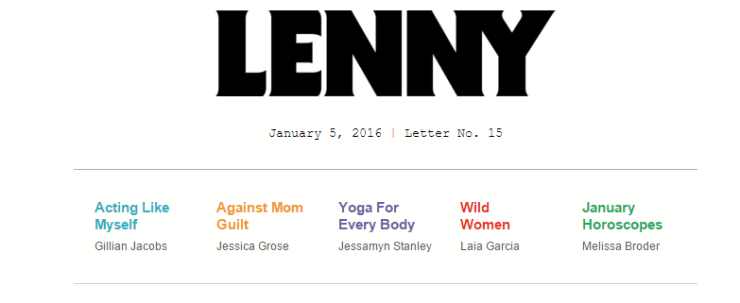 lenny - 14 Online Tools to Get Your 2016 Started Right