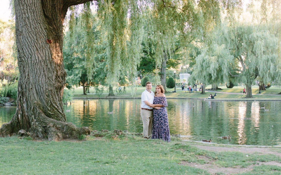 Boston Public Gardens | Engagement Session