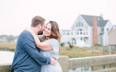 Green Harbor Beach  Engagement   Jillian and Joe