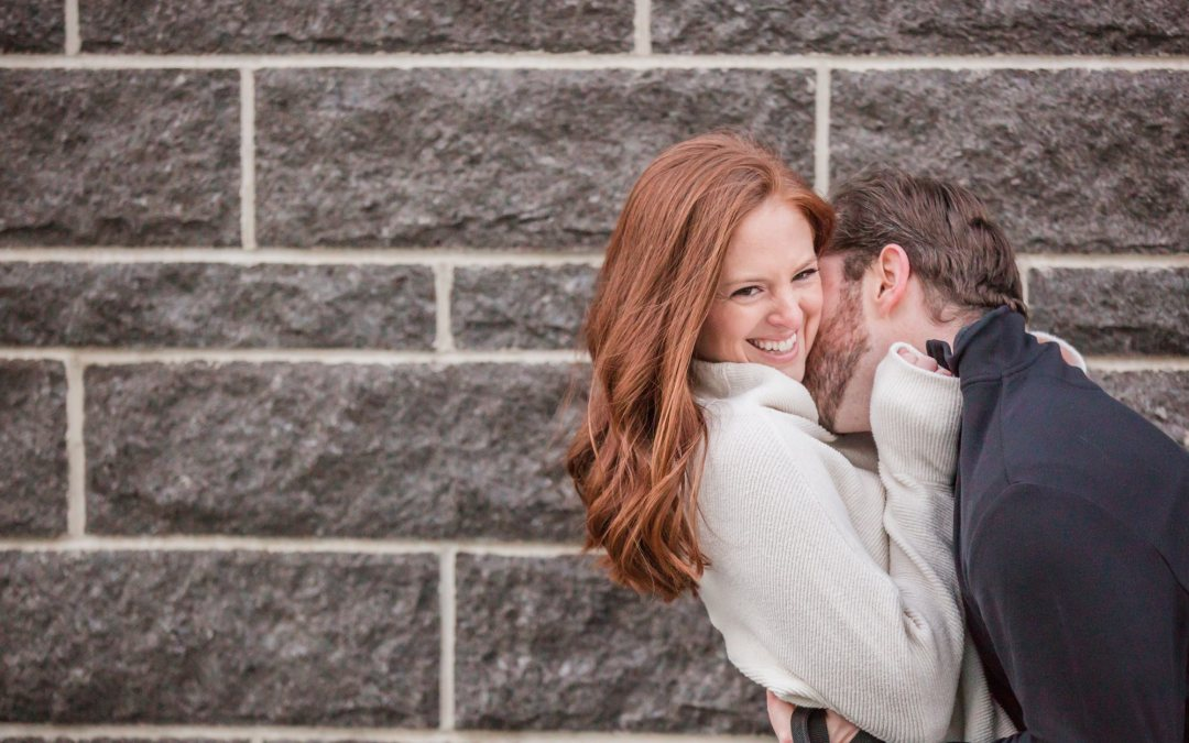 Boston Sea Port Engagement Session | Gina + Kevin