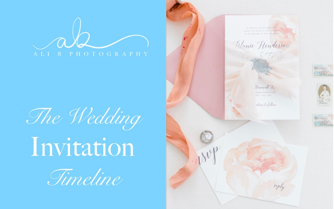 Wedding Invitation Timeline| Wedding Wisdom