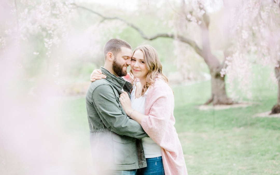 Arnold Arboretum of Harvard University Engagement Session | Stephanie & Daniel