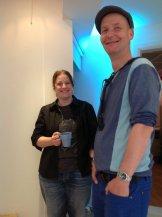 Coffee break with Alex & Erasmus
