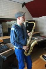 Erasmus Wegmann, tenor sax
