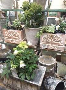 Stonewash pots and planters