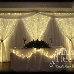 Chair Covers Wedding London Antique Morris With Footrest Event Backdrop Hire - London, Hertfordshire & Essex