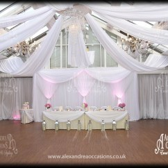 White Wedding Chair Covers Hire Big Joe Chairs Bed Bath And Beyond Event Backdrop - London, Hertfordshire & Essex
