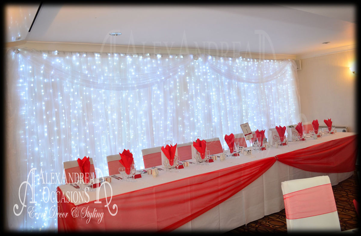 chair back covers wedding animal skin event backdrop hire - london, hertfordshire & essex