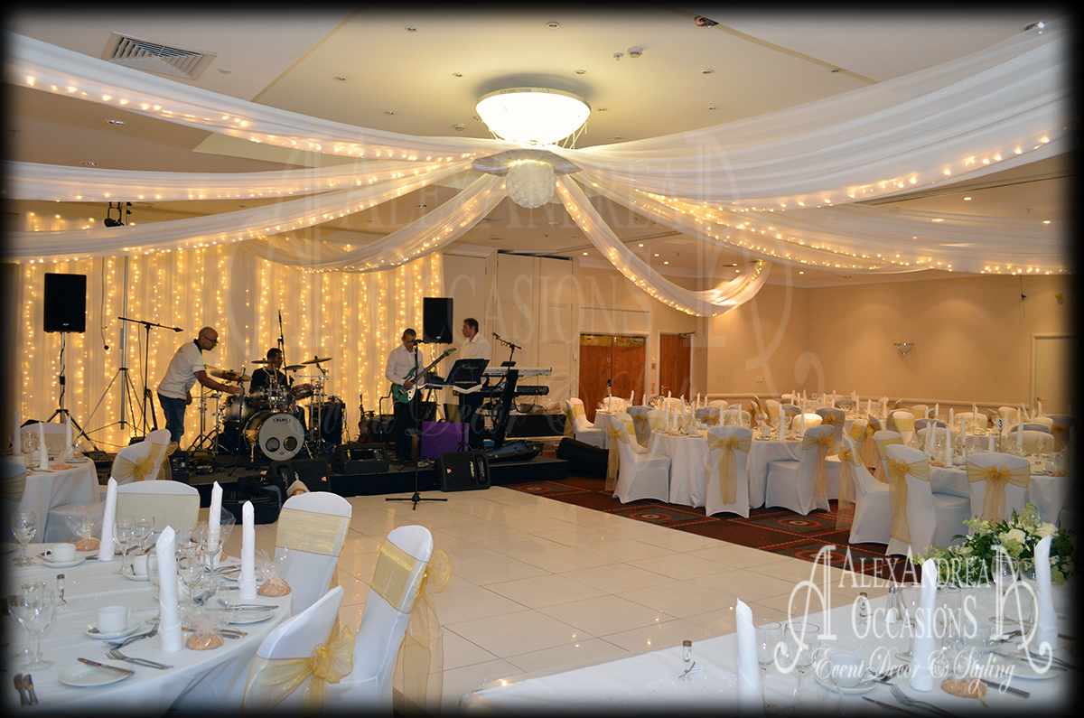 wedding chair covers hire hertfordshire swing autocad block event ceiling drapes - london, hertfordshire, essex & bedfordshire