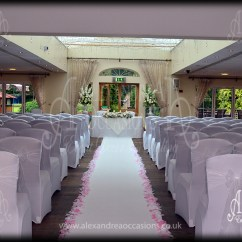 Wedding Chair Covers Hire Hertfordshire Felt Bottoms For Chairs Cover London Essex Ceremony Orsett Hall