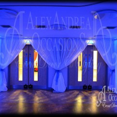 Chair Covers For Weddings Essex Replacement Canvas Nz Curtain & Entrance Drape Hire London Hertfordshire Bedfordshire