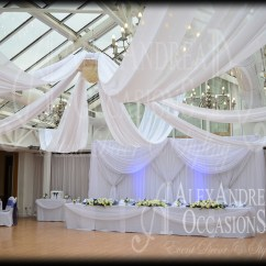 Chair Cover Hire London Bar Stool Folding Chairs Wedding Draping Hertfordshire & Essex