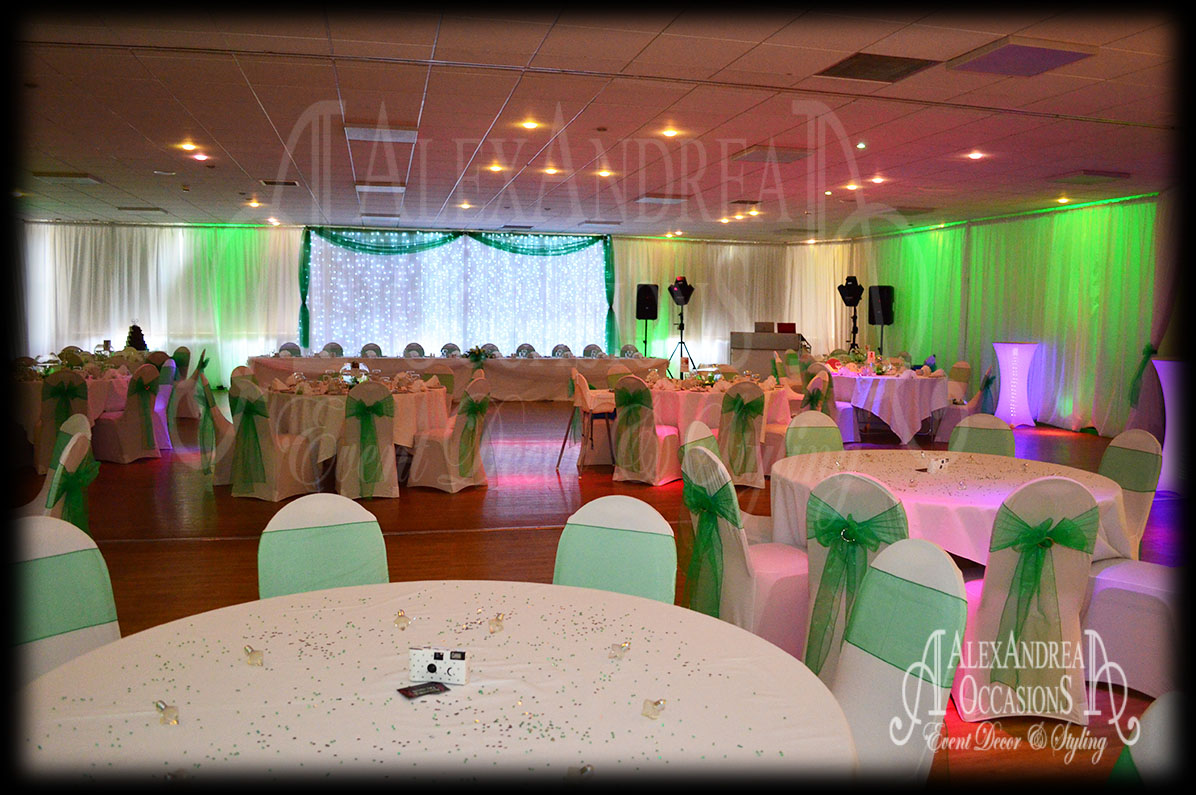 chair covers and sashes essex bassett dining chairs wedding event wall drape hire london, hertfordshire, & bedfordshire