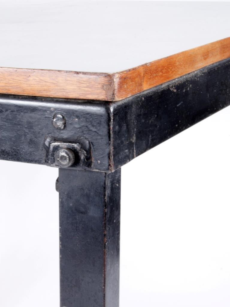 charlotte perriand table bridge pliante