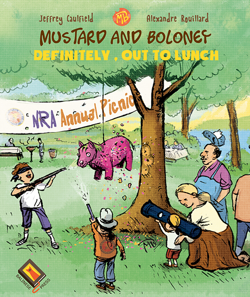 Cover of Mustard and Boloney Cartoons vol.02