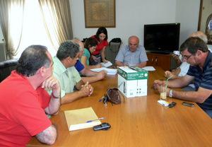 Συνεδρίαση Διοικητικού Συμβουλίου Συνδέσμου Ύδρευσης