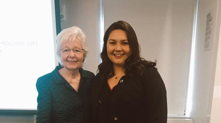 Meeting Chief Justice Margaret Marshall of the MA SJC