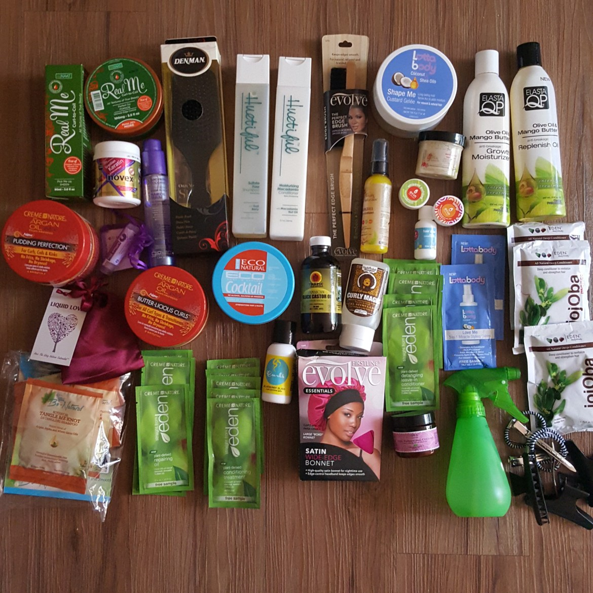 The Natural Cole How To Event Hair Swag Bag