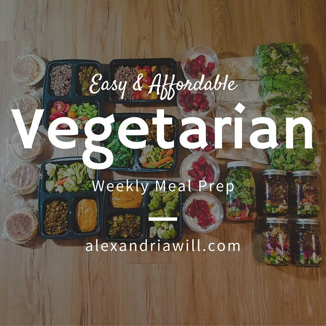 easy and affordable vegetarian weekly meal prep on the massy30day challenge