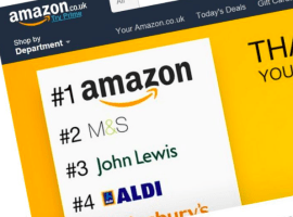 Amazon is offering £10 off any £50 order today
