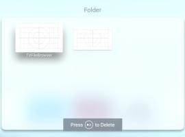 Apple TV may soon have folders, similar to iOS