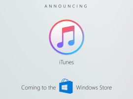 iTunes for Windows Store release delayed