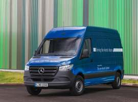 Mercedes will be launching a fully electric Sprinter van