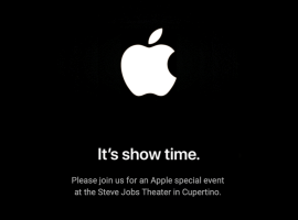 Apple has an event for 25th March – titled  'It's show time'