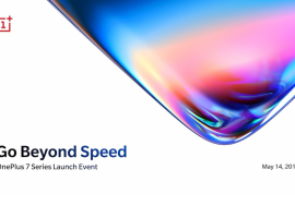 OnePlus will be showing of the 7 Series on 14th May
