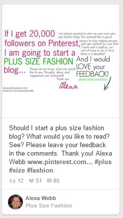 Should I Start A Plus Size Fashion Blog - Alexa Webb