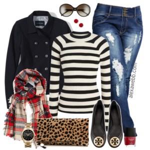 Alexa Webb - Plus Size Fashion - Plus Size Fall Outfit - #alexawebb alexawebb.com