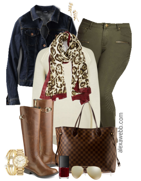 Plus Size Outfit Idea - Plus Size Fashion - Alexa Webb - alexawebb.com