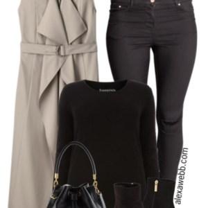 Plus Size Casual Outfit - Plus Size Fashion for Women - Plus Size Black Jeans - Alexa Webb - alexawebb.com #plus #size