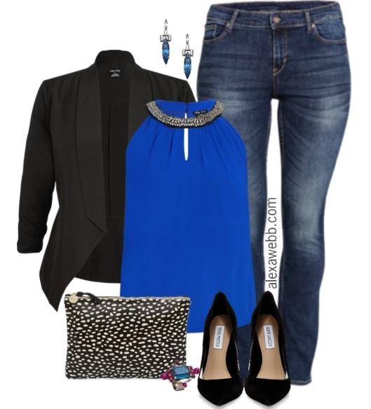 Plus Size Night Out Outfit - Plus Size Fashion for Women - Alexa Webb - alexawebb.com