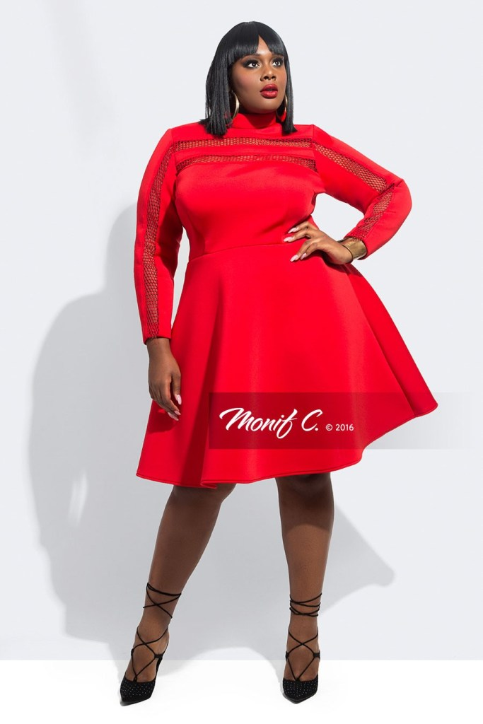 Plus Size Red Dresses For Valentines Day With Sleeves Alexa Webb