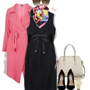Plus Size Black Sheath Dress 3 Ways - Plus Size Fashion for Women - Plus Size Work Outfit #alexawebb #plus #size