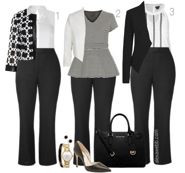 468ec4465dd Summary -  Plus Size Summer Night Out Outfit Alexa Webb