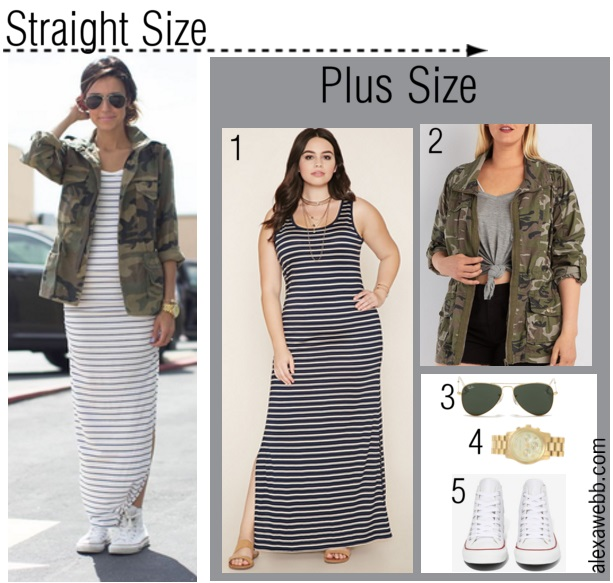 2297b03cc92 Straight Size to Plus Size Outfit - Plus Size Fashion for Women - Alexawebb .com