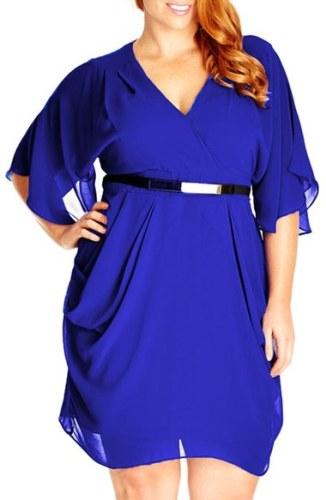 33 Plus Size Wedding Guest Dresses {with Sleeves}! - Plus Size Fashion - Alexawebb.com