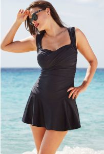 18 Plus Size Swimdresses to Rock - Plus Size Swimsuits - alexawebb.com