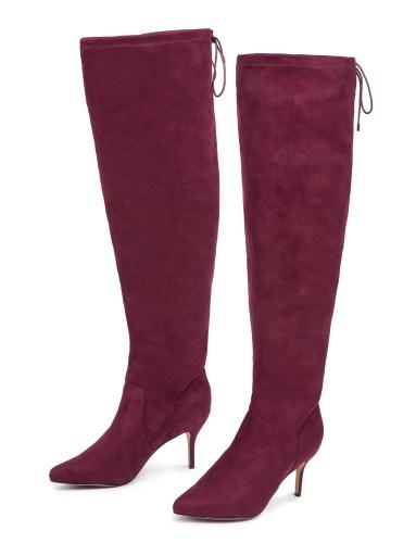 24 Wide Calf Over-the-Knee Boots - Alexa Webb