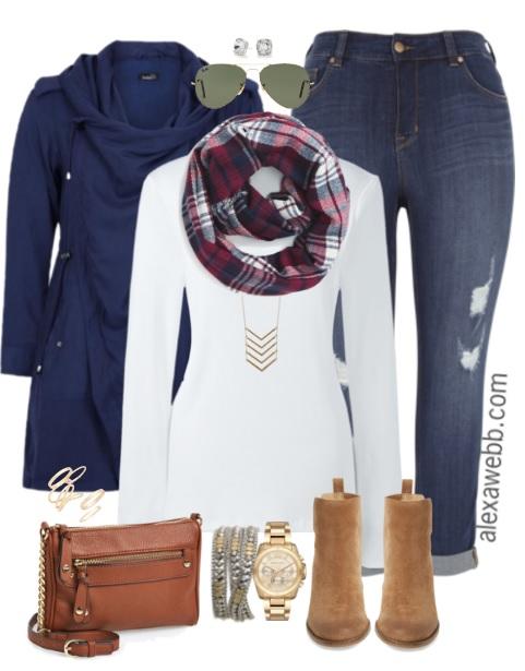 8f3f630475d Plus Size Casual Fall Outfit - Plus Size Fashion - alexawebb.com