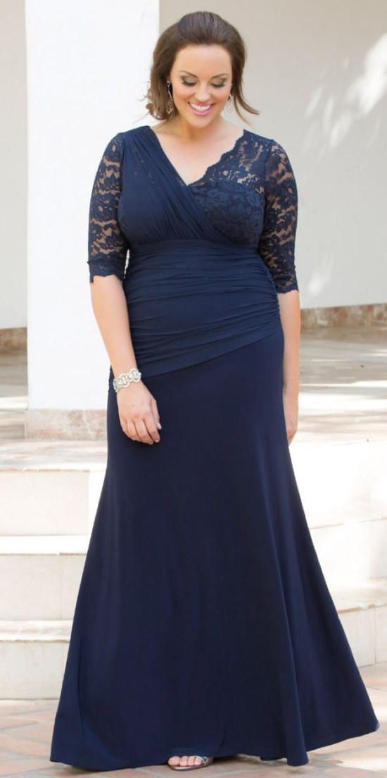 24 plus size long wedding guest dresses with sleeves for Long dress wedding guest